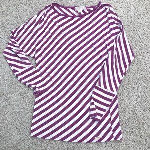 MICHAEL Michael Kors dolman sleeve striped top